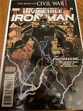 Invincible Iron Man #9 Marvel Comic July 2016 A05
