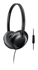 Philips Shl4405bk Flite Headphones With Mic Shl4405 Black
