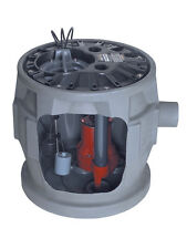 Liberty Pumps Complete Sewage Package, 1/2 HP, 115V, 41 Gallon Basin - P382LE51