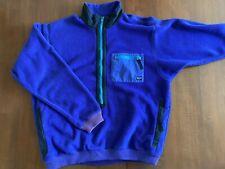 Vintage 80s Patagonia Fleece Retro X Style Purple  Jacket Mens Xl