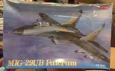 """Super 1:72 TRUMPETER """"MIG-29UB Fulcrum 4000 FACTORY SEALED BOX!"""