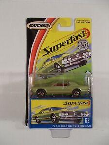 Matchbox Superfast #62 1968 Mercury Cougar