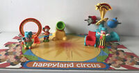 Early Learning Centre ELC Happyland Fairground Ride, and Circus Clown Bundle