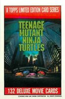1990 TOPPS TEENAGE MUTANT NINJA TURTLES MOVIE - PICK / CHOOSE YOUR CARDS