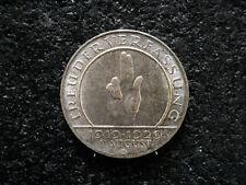 3 Reichsmark 1929 - D  - Weimarer Republik - Verfassung - Erhaltung - (f19n1)