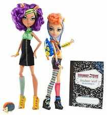 Monster High Clawdeen & Howleen WOLF SISTERS USA OVP X5227