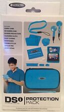 Nintendo DSi Protection  Pack - Blue Accessory Kit - Essentials - Brand New