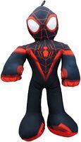 "Spiderman Miles Morales Plush Stuffed Toy Gift Kids Boys Girls Marvel Mini 9"""