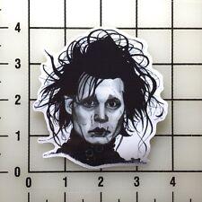 """Edward Scissorhands 4"""" Wide Color Vinyl Decal Sticker BOGO"""