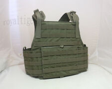 FLYYE Tactical MOLLE PC Plate Carrier Vest - Ranger Green - size M CORDURA