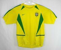 Nike Brazil Men's National Team Men's Small Soccer Futbol Jersey 5 Stars