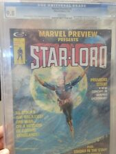 Marvel Preview Presents: Star-Lord, Issue #4 CGC 9.8 1st Appearance of Star Lord