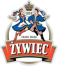 "Zywiec Beer Alcohol Car Bumper Window Locker Sticker Decal 4""X5"""