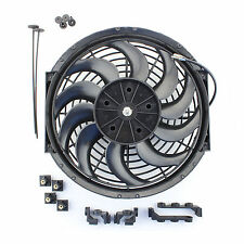 "ACP 12"" Universal Pull Radiator Cooling Fan Curved Blades Replacement Unit"