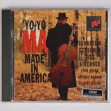 YO YO MA: Made in America, Bernstein, Gershwin SIGNED Autographed CD Sony NM