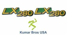 Kumar Bros USA Lower Hood Set of 2 Decals Replaces M149591 Fits John Deere LX280