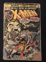 X-MEN #94 (1975) KEY ISSUE: New X-Men begin, Low grade reader but complete