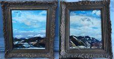 Gorgeous, Juan Bautista PORCAR RIPOLLÉS (1888-1974) Spanish painter - Pair of oi