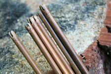 Twelve Bamboo arrow shafts. Dia 8mm Long bow, horse bow, traditional archery.