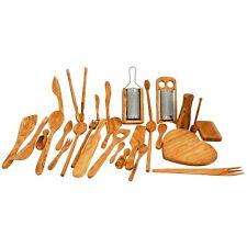 Handmade Olive Wood Cooking Utensils - Wooden Kitchenware / 58+ items SkandWood