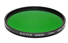 77mm High Quality Kood Optical Glass Green Filter Made in Japan Multicoated 77mm