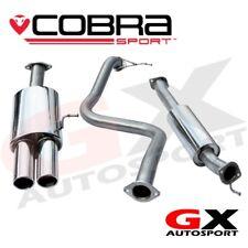 FD50 Cobra Sport Ford Fiesta MK7 ST180 Twin Tailpipe Cat Back Exhaust Resonated
