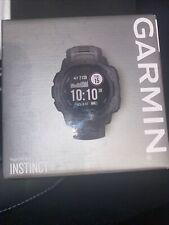 Garmin Instinct 45 mm Plastic Black Case Anthracite Buckle Band - 010-02064-00