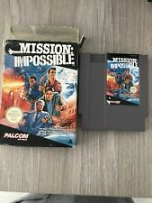 NES NINTENDO BOXED GAME  MISSION IMPOSSIBLE