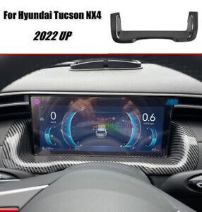 For 2022+ Hyundai Tucson NX4 Carbon Fiber ABS Dashboard Panel Frame Cover Trim