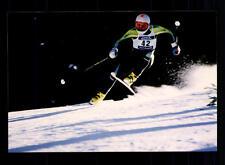 Oskar Delago FOTO ORIGINALE FIRMATO skialpine + a 125009