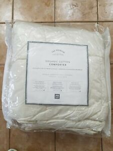 Pottery Barn The Premium Bedding Collection Stay Pure Duvet Insert Queen #4725