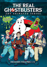 The Real Ghostbusters TV Series Complete Animated Series Vol 1-5 ~ NEW DVD SET