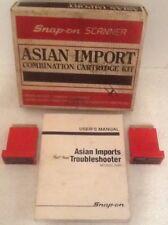 Snap-On 1983-90 Asian MT2500-4490 For MT2500 Scanner  Cartridges 1490 & 2490
