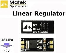 Matek LiPo 4s a 12v Regolatore di tensione lineare per fotocamera 12v FPV Drone OrangeRx