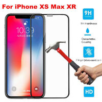 9H+Real Premium Tempered Glass Screen Protector Film For Apple iPhone XS Max XR