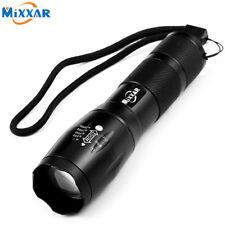LED Flashlight Portable LED Torch Zoomable Flashlight 4000LM E17 CREE XM-L