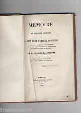 Memoire sur la question proposee par la Sté royale agriculture Ladoucette 1841