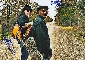 Smokin´ Joe Kubek & Bnois King signed 8x12 inch photo autographs
