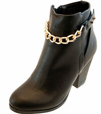 New Look Ankle Zip Synthetic Leather Women's Boots