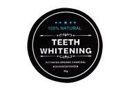 Aktivkohle Zahnpolitur Whitening Zahnpasta weiße Zähne Zahncreme 30g