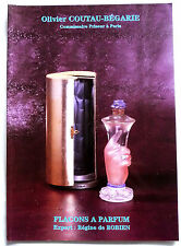"""SPLENDIDE CATALOGUE """"FLACONS A PARFUM"""" 16 NOVEMBRE 1998"""
