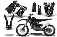 Dirt Bike Graphic Kit Decal Sticker Wrap For Yamaha YZ125 YZ250 93-95 REAPER BLK