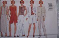 5012 UNCUT Vintage Butterick SEWING Pattern Jacket Top Skirt Shorts Pants FF OOP