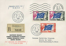 """Registered FDC Council Europe """"Joint Meeting - 1st Participation Cyprus"""" 09-1961"""