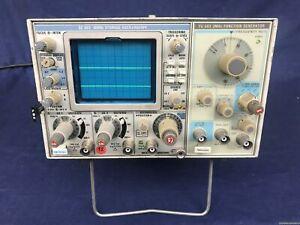 Tektronix SC 503 + FG 503 Storage Oscilloscope / Functiom Generator