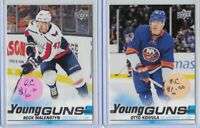 2019-20 Upper Deck Beck Malenstyn Otto Koivula Young Guns Rookie Lot No. 480 483