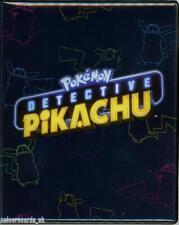 Pokemon: Detective Pikachu 4-Pocket Portfolio :: 10 Pages : 80 Cards Album