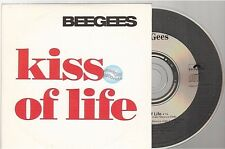 BEE GEES kiss of life CD PROMO france french card sleeve