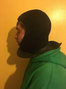 OCEANIC NEOPRENE wet suit scuba DIVE DIVER hood balaclava Size Small BLACK