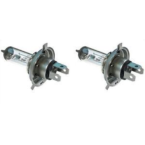 H4 Halogen Headlight Headlamp Replacement Bulbs 12V Clear 80/100W Pair New